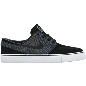 Nike SB Zoom Stafan Janoski Shoes - Black/White/Medium Olive